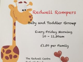 Redwell Rompers