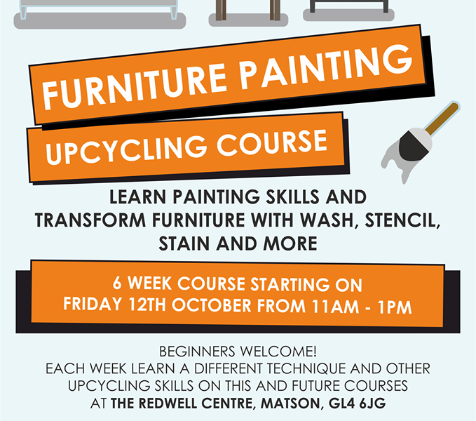 Upcycling 6 week course