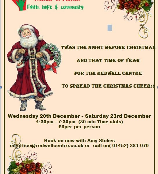 The Redwell Centre does Christmas…….