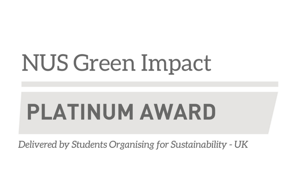 Together in Matson has been awarded Platinum in the Green Impact Award